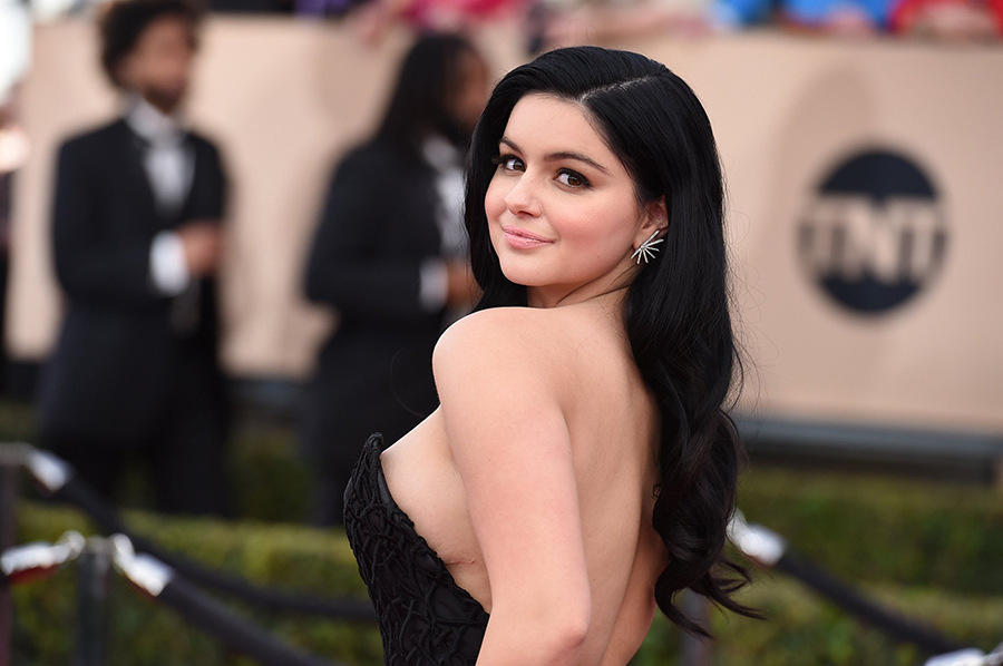 Ariel Winter Turns Heads In Her Graduation Dress