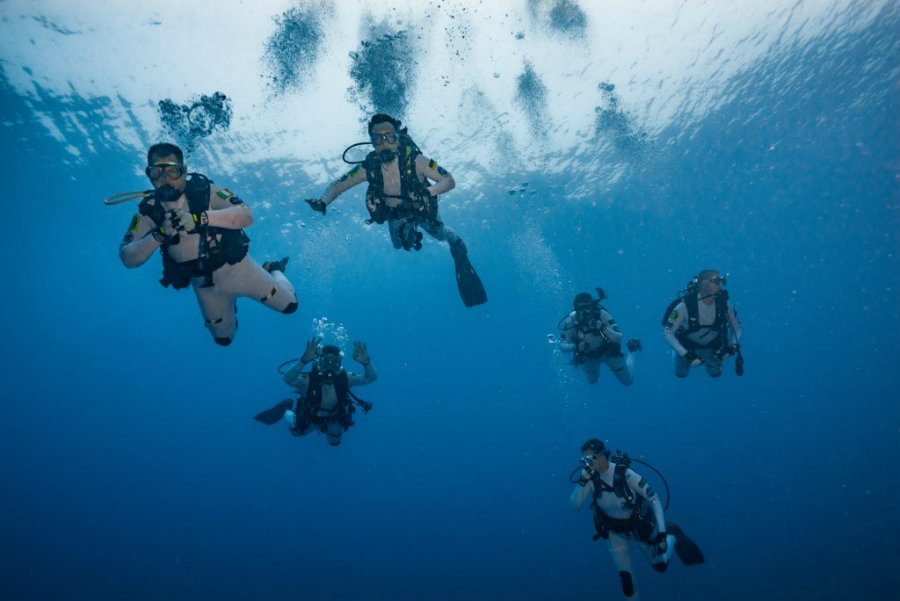 With the underwater navigation machinery, astronauts will have to build a coral nursery to train how to construct in low-gravity. Image Credit: IHMC