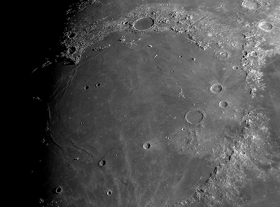 The Imbrium Basin has been an object of study since the 19th Century. Photo Courtesy of Robert Reeves
