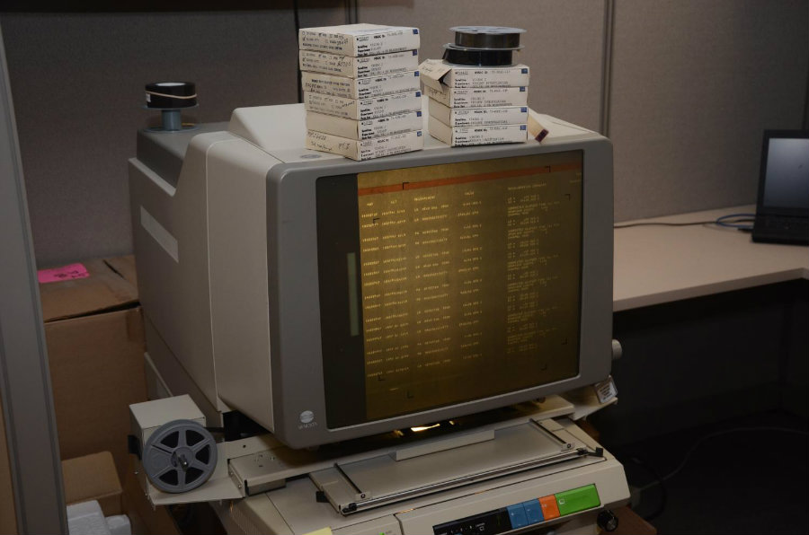 All of the data collected by the Vikings mission remain stored in microfilms, until recently. Image Credit: Phys