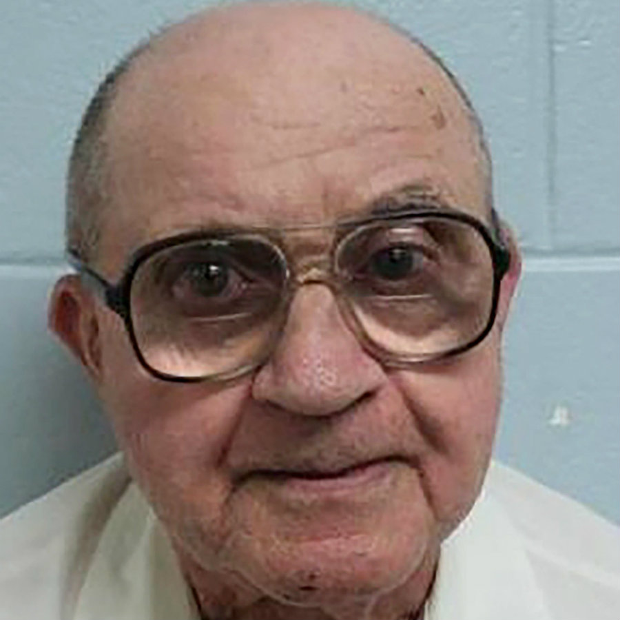 The latest photo taken of former KKK member Thomas Edwin Blanton Jr., who has spent the past 53 years in prison for killing four black women back in 1963. Image Credit: DDNS