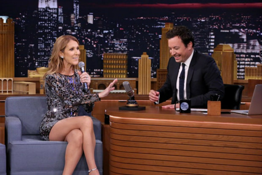 Famed singer Celine Dion visited Jimmy Fallon on The Tonight Show earlier this week. Dion made some good impressions of Rihanna, Sia and even Cher. Image Credit: US Magazine