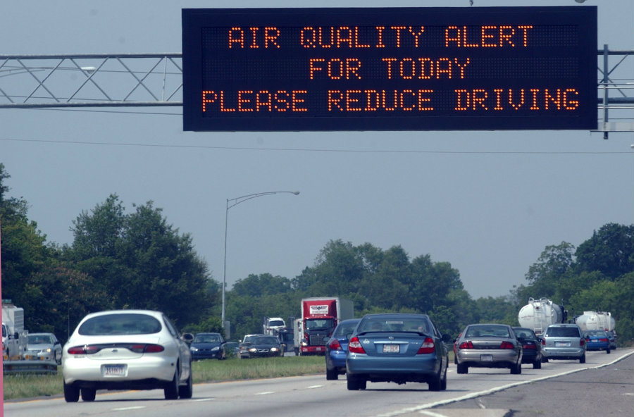 The Maine Department of Environmental Protection issued on Friday an air quality alert due to unhealthy ground-level ozone concentrations in the air along the Maine Coast from Kittery to Acadia National Park. Photo credit: Birmingham News file / AL