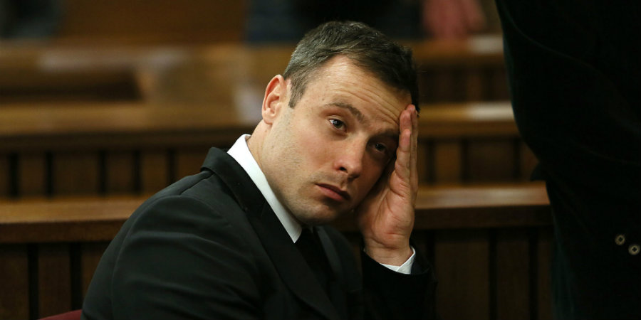 """South Africa's National Prosecuting Authority announced on Thursday that they would appeal Oscar Pistorius' six-year sentence, deeming it """"shockingly lenient."""" Photo credit: AP / The Huffington Post"""