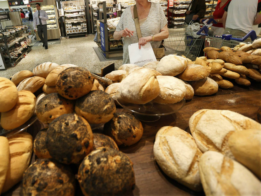 People sensitive to gluten, but not suffering from celiac disease, have a weakened intestinal barrier that causes a variety of gastrointestinal and extraintestinal symptoms after eating bread and other products with wheat, rye or barley. Photo credit: Suzanne Plunkett / Reuters / Business Insider