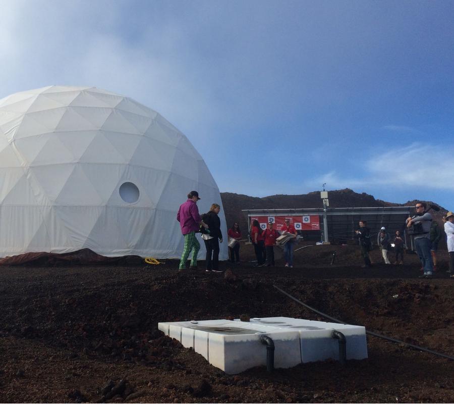 NASA, Mars, Dome