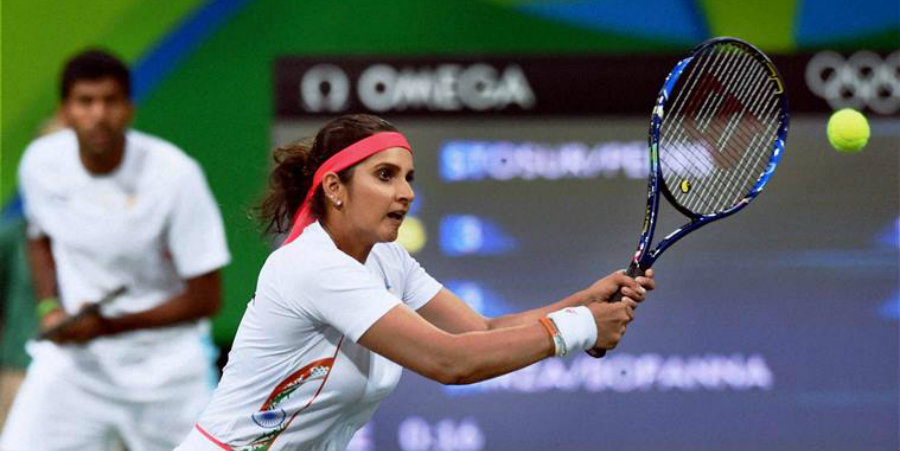 Sania Mirza broke down in tears after losing the chance to get a bronze medal for her country. Image Credit: News To Go
