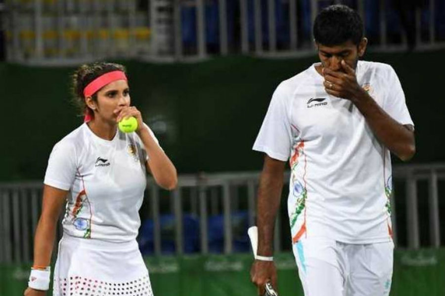 Rohan Boppana is recognized around the world for his charity and his campaign Stop War Start Tennis. Image Credit: ESPN
