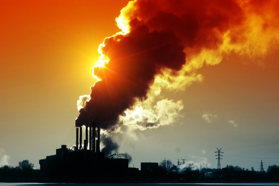 Comprehensive federal global warming legislation is essential if the U.S. is going to reduce its greenhouse gas emissions. Image Credit: IOP