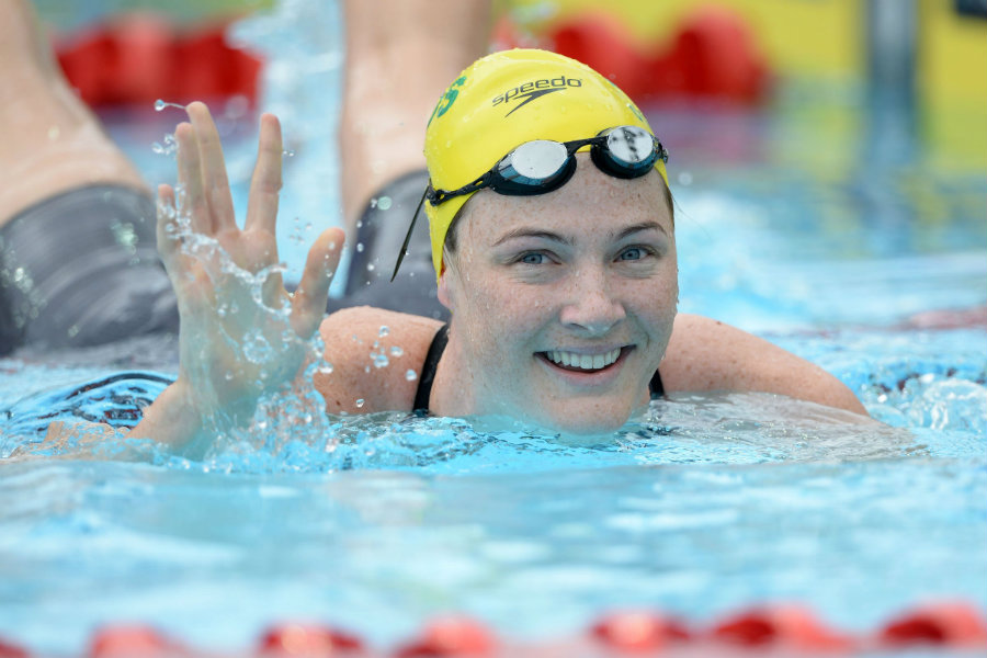 The Australian victory was possible thanks to the 4x100-meter freestyle relay team's anchor, Cate Campbell, who won the second consecutive gold medal. Photo credit: Delly Carr / Swimming World