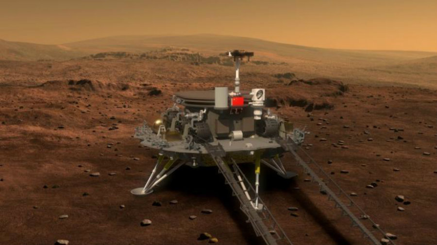 This new Mars rover is expected to explore the surface of the planet for approximately three months or ninety-two days. Photo credit: China Daily / Independent