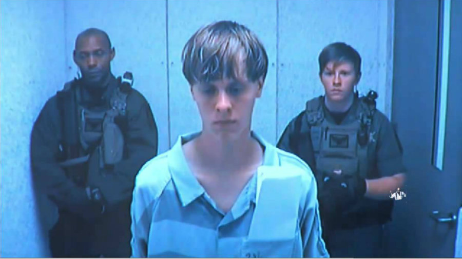 22-year-old Dylann Roof, accused of killing nine black people at Charleston's Emanuel AME Church, was leaving his cell towards the showers when 25-year-old Dwayne Stafford attacked him last Thursday morning. Photo credit: Les Grossman