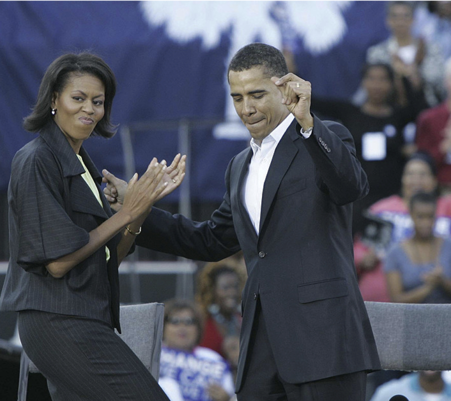 Obama dancing 2