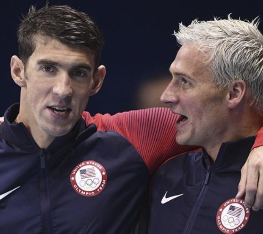 Phelps, Lochte, RIo