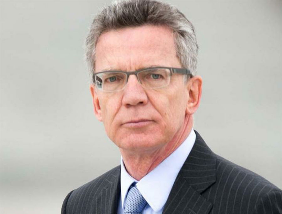 German Interior Minister Thomas de Maiziere. Image Credit: Like Success