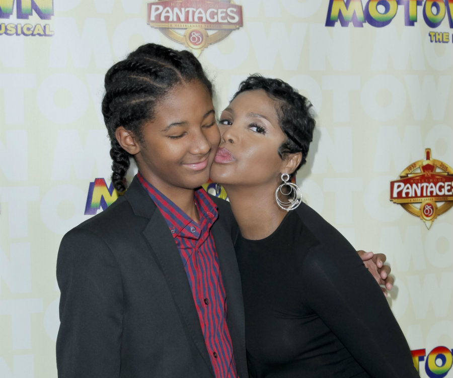 Toni Braxton announced that her son, Diezel, is no longer autistic. Photo credit: Praie 102.7