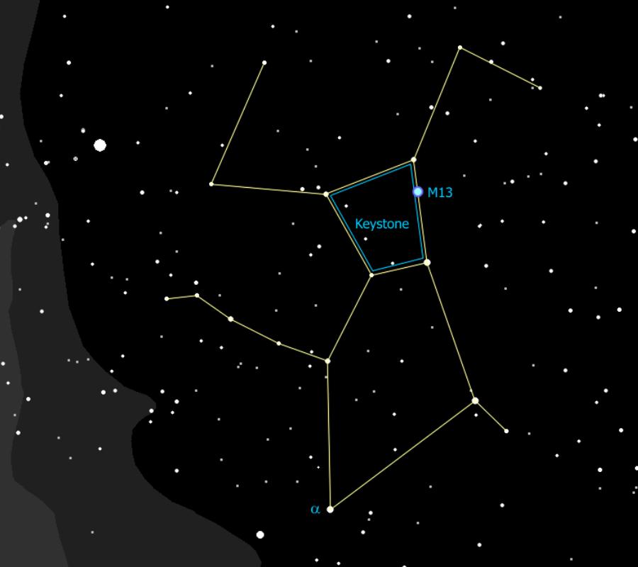 Hercules constellation
