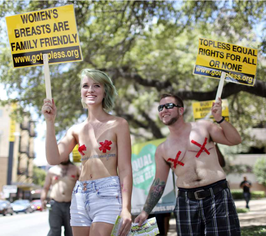 Go Topless March
