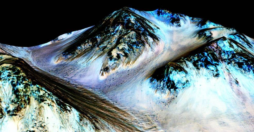 NASA, Mars, Water
