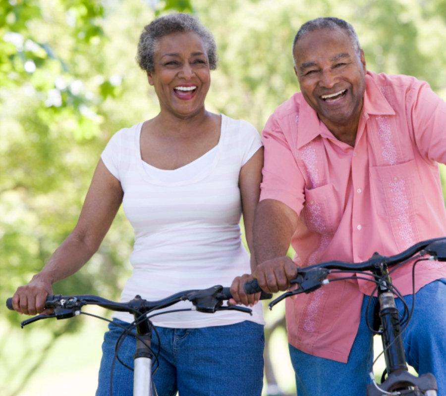Elderly adults, exercise