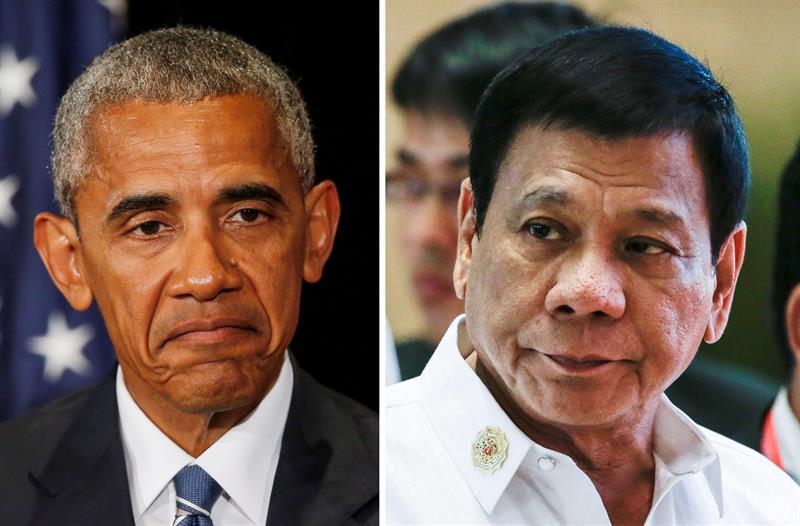 Obama, Duterte