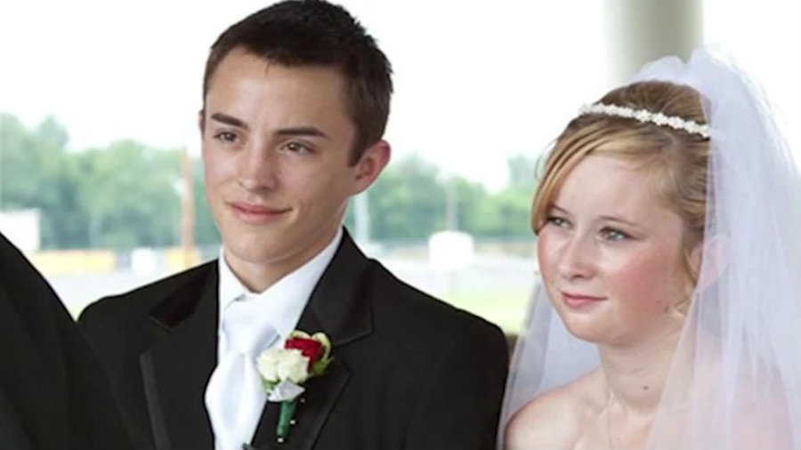"""Katie Prager, the wife in the real """"Fault in Our Stars,"""" passed away Thursday morning, almost a week after Dalton, her husband. Photo credit: CNN / WISN"""