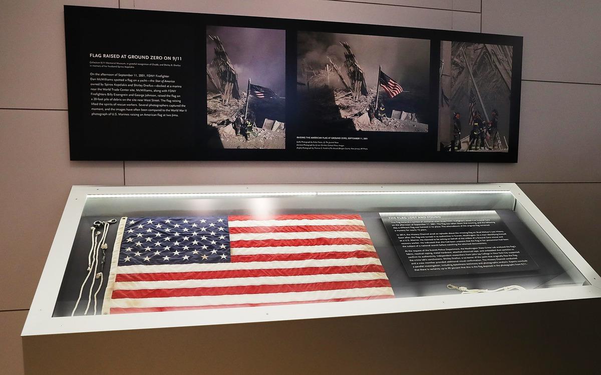 U.S. Flag, 11 September, Memorial