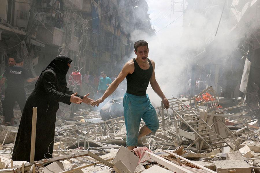 alleppo-airstrikes