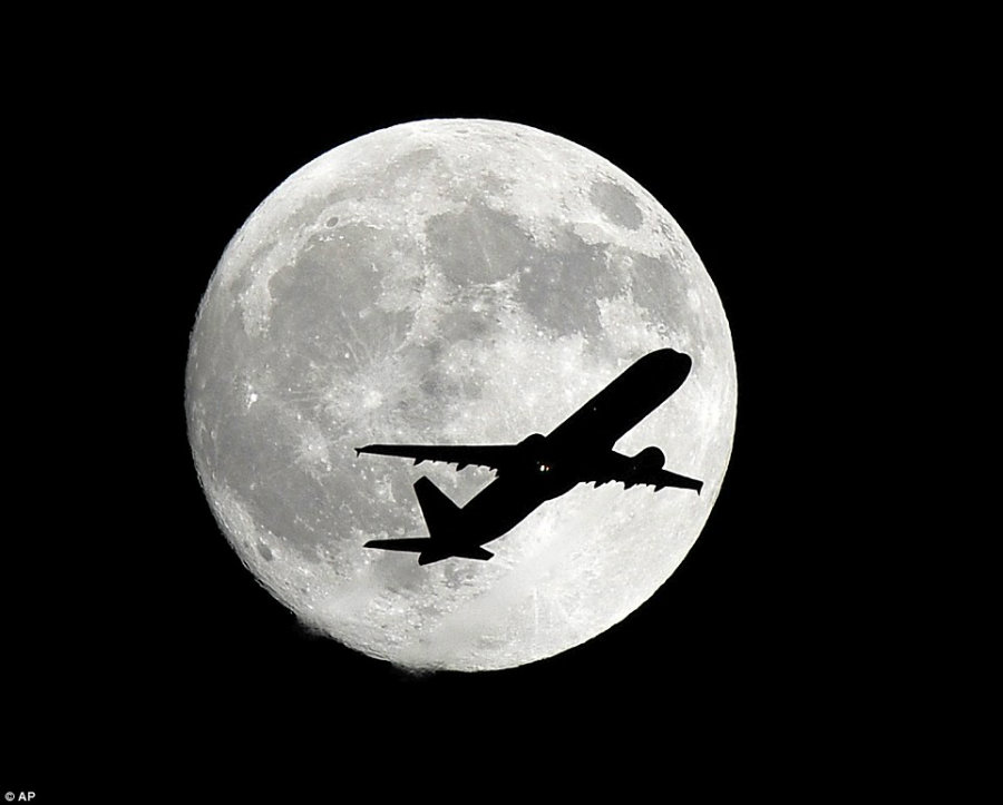 Te event gets its name due to the moon's closest position to the autumnal equinox. Photo credit: AP