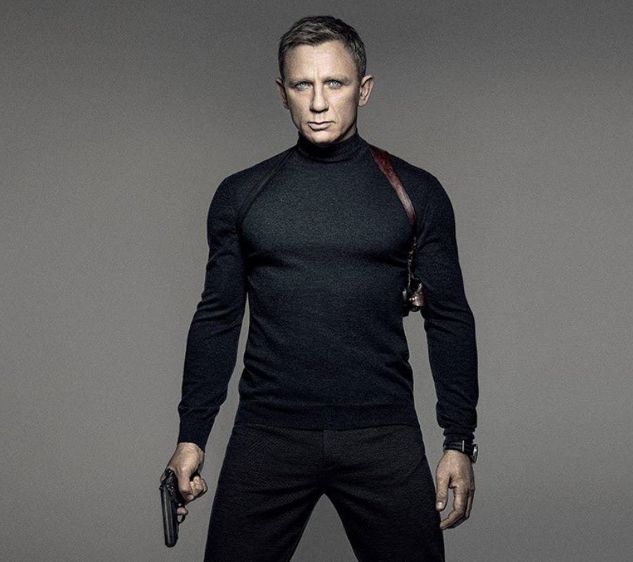 James Bond. Daniel Craig