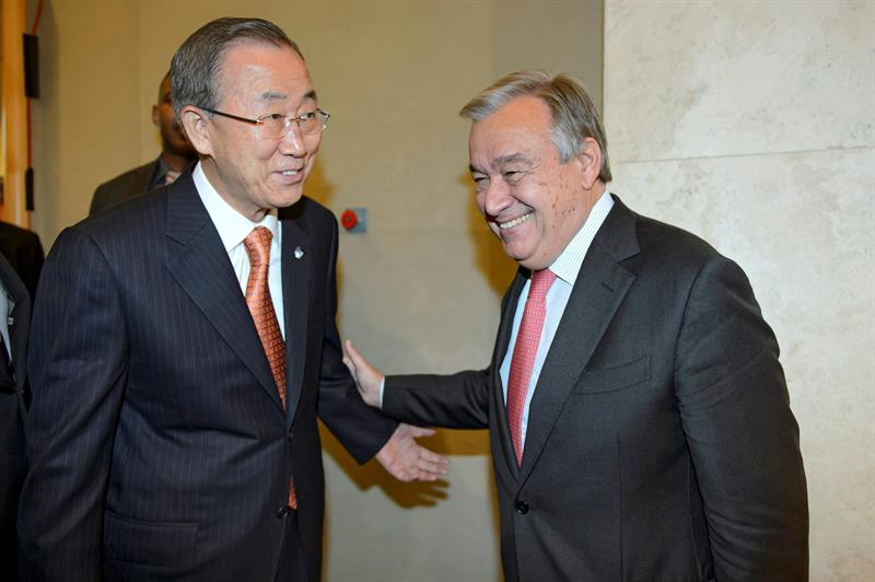 UN's Antonio Guterres
