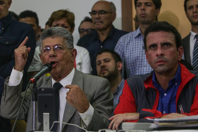 Ramos Allup, Capriles, Venezuela