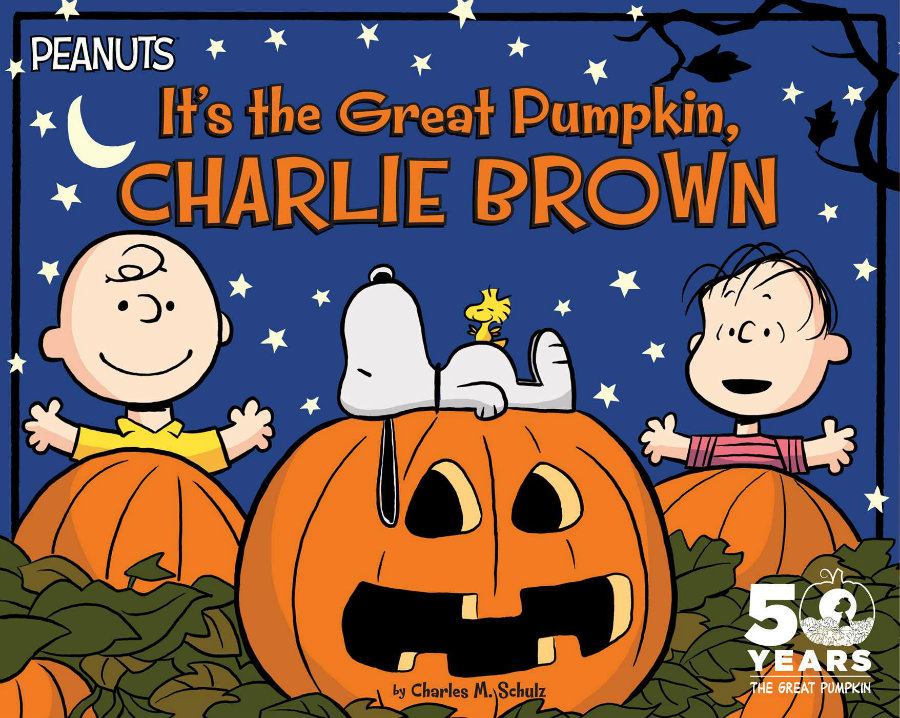 """It's the Great Pumpkin, Charlie Brown"" will celebrate its 50th anniversary this year. Photo credit: Simon & Schuster"