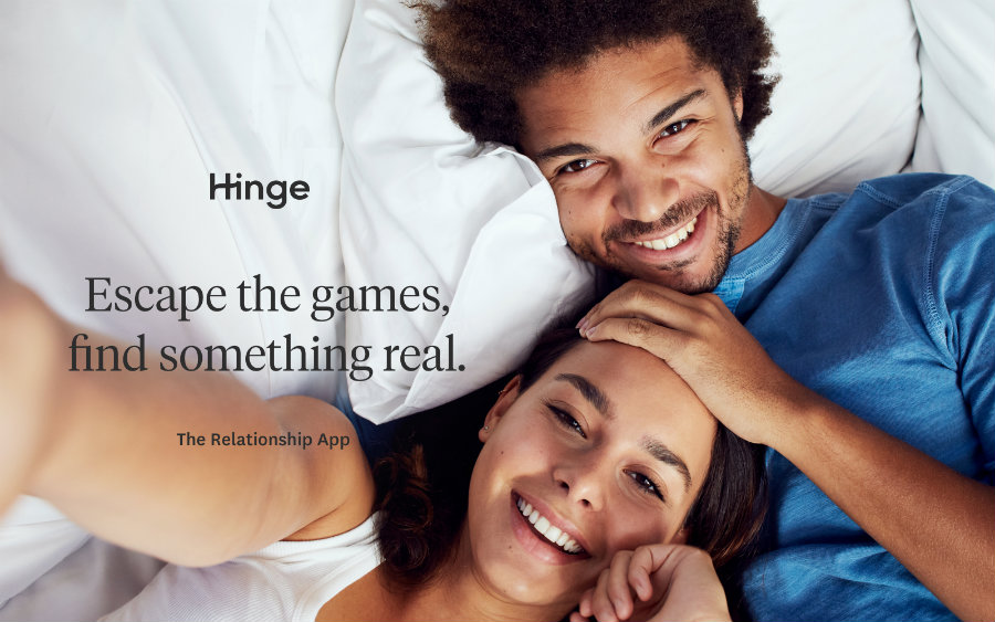 """Hinge worked for more than a year to released their """"more serious"""" version of a relationship app. Photo credit: Engadget"""