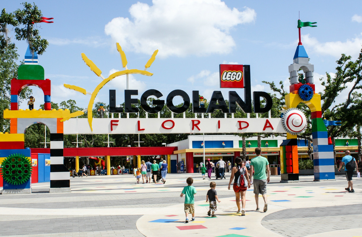 Visitors at the Legoland florida Resort were evacuated after a bomb threat. Photo credit: Trover