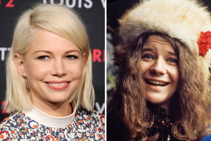 "Actress Michelle Williams could be playing Janis Joplin in the upcoming biopic, ""Janis."" Photo credit: Celebsip"