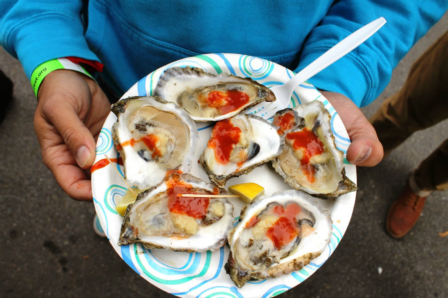 Precisely 75 individuals are suspected of having norovirus from eating raw oysters. Photo credit: Indulgeinspireimbibe.blogspot.com