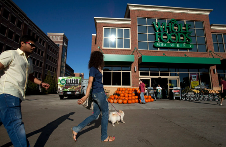 An investigation is searching for a connection between the foods sold at the Whole Foods Market and Hepatitis A. Photo credit: Marcin Szczepanski / Slate
