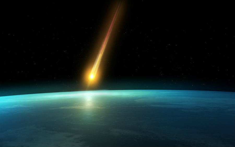 Researchers believe that an extraterrestrial impact may have led to the ancient climate change. Photo credit: Prajaktadighe.wordpress.com