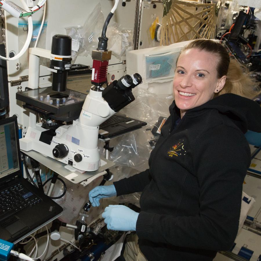 ISS Astronaut Kate Rubins