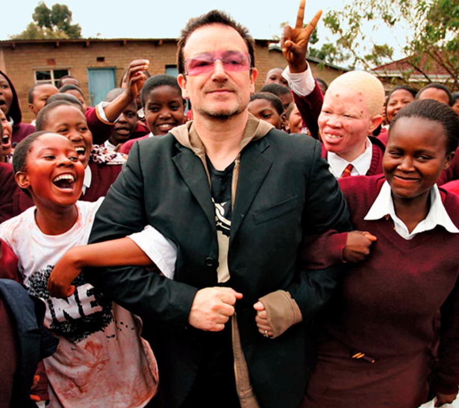 U2 Bono in Africa