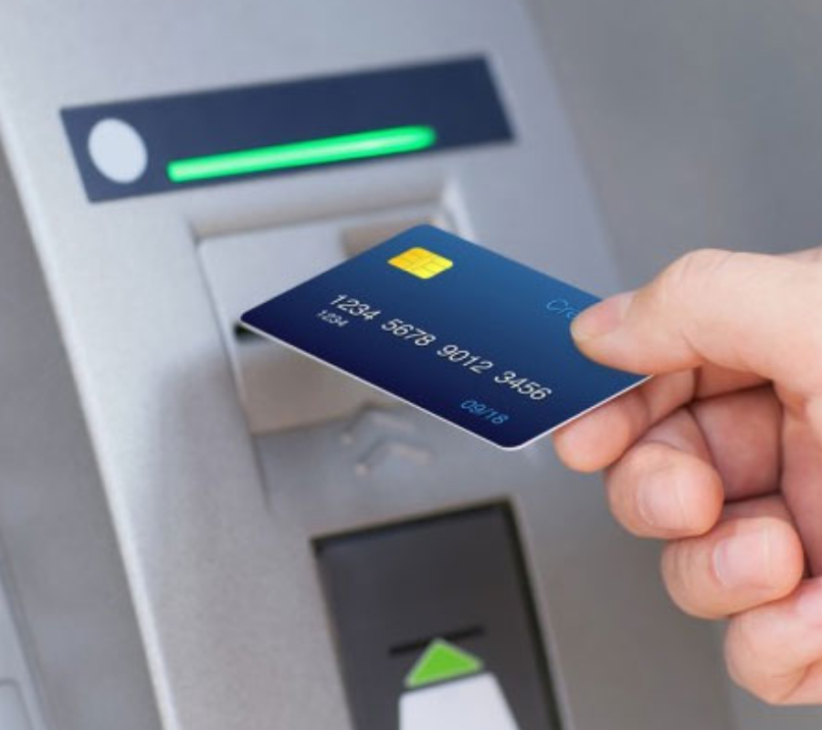 ATM Machine, card