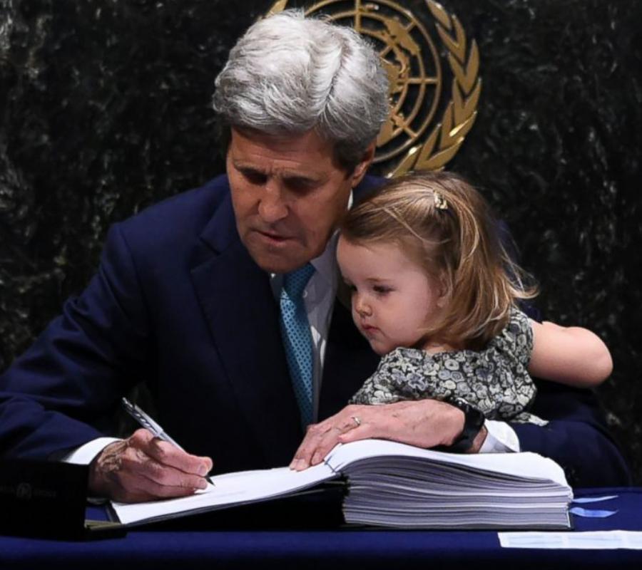 John Kerry, U.N.