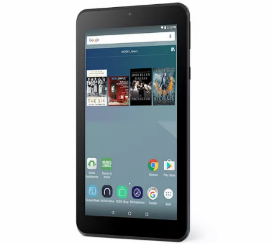 """On Black Friday, the newest Barnes & Noble product will come out: The 4 Nook 7."""" Photo credit: Barnes & Noble / The Verge"""