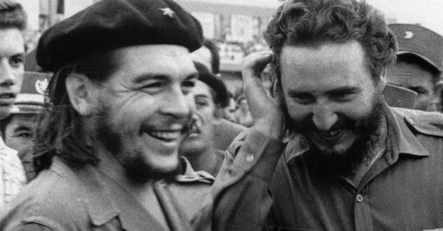 """Ernesto """"Che"""" Guevara and Fidel Castro. Photo credit: AFP / Getty Images / CNBC"""