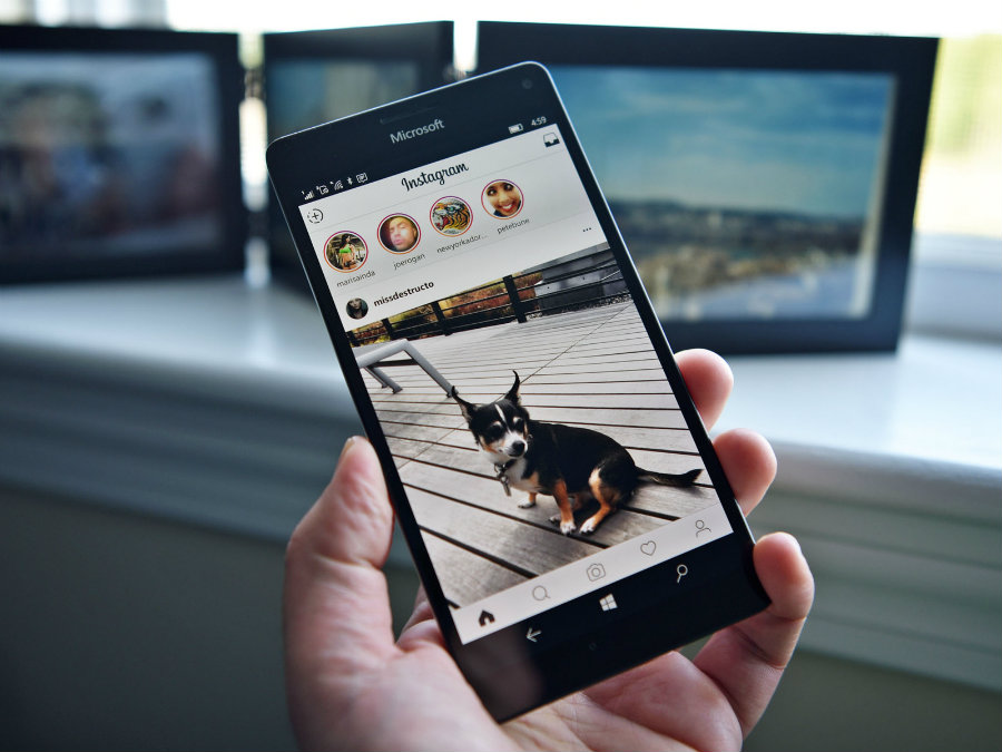Instagram just released the first major update to Instagram Stories. Photo credit: Windows Central
