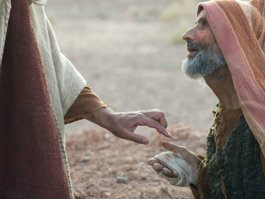 Leprosy is an ancient disease, even appearing in the Bible. Photo credit: Freebibleimages.org