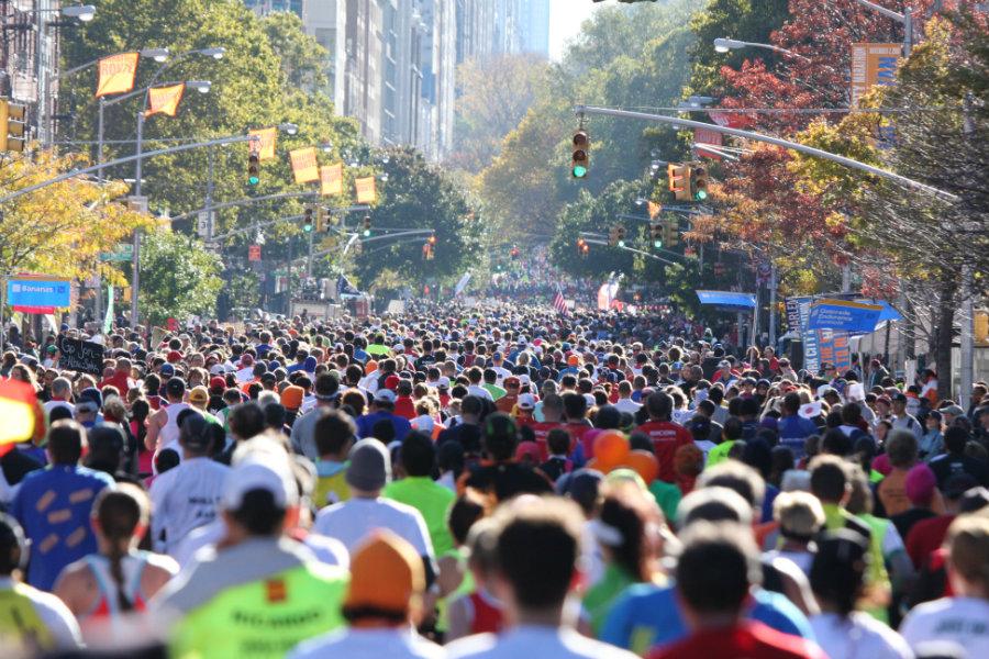 New York CIty Marathon 2016. Photo credit: Sports Travel International
