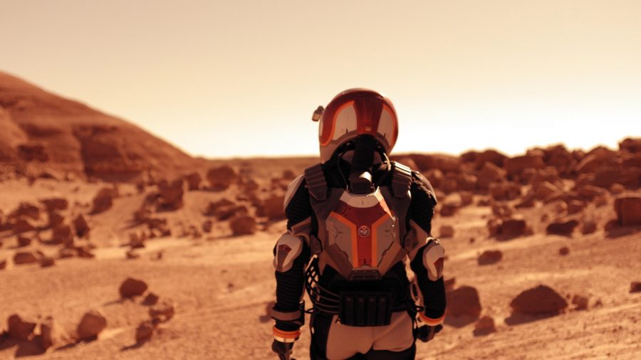 "Nat Geo released yesterday its new miniseries named ""Mars."" Photo credit: National Geographic Channel"
