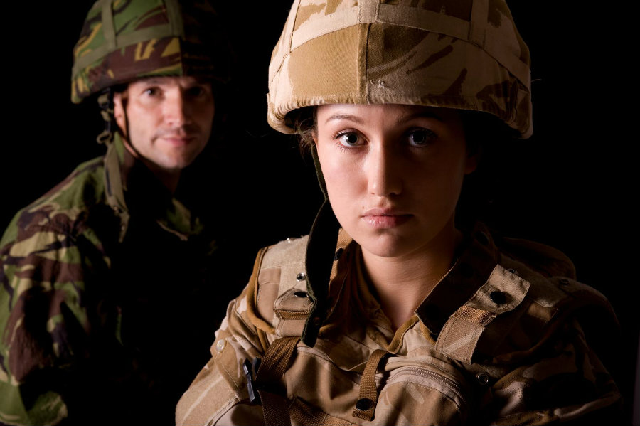 An average of 20 veterans took their life every day in 2014. Photo credit: Therapy Tribe